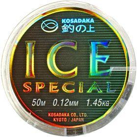 Леска Kosadaka Ice Special зимняя 50 метров