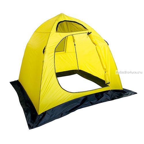 Палатка зимняя Holiday EASY ICE 210х210 жел. (H-10461)