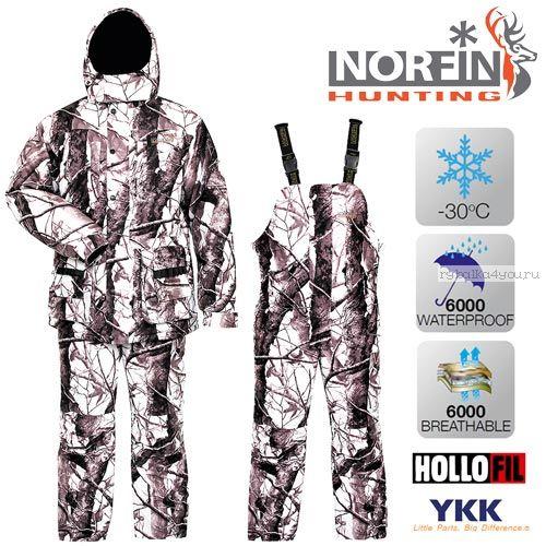 Костюм зимний Norfin Hunting WILD SNOW