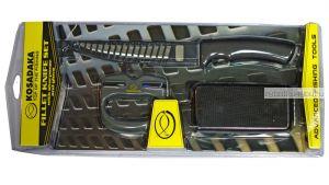 Набор для разделывания рыбы Kosadaka (металлизированная перчатка, нож, точилка) GKS1