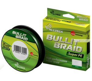 Шнур ALLVEGA BULLIT BRAID 135m (Зеленый))
