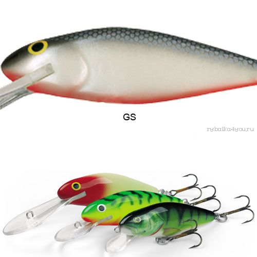 Воблер Salmo PERCH SR 14 цвет GS / до 1,5 м