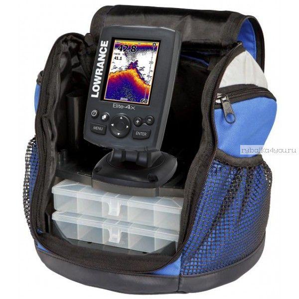 Картплоттер-эхолот Lowrance Elite-4 Ice Machine