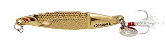 Блесна Kosadaka Fast Jig 75мм / 15 грамм / Gold