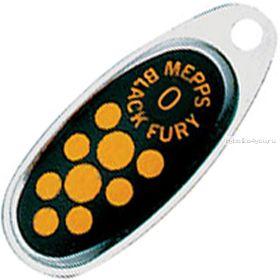Блесна Mepps Comet Black Fury цвет AG/JN  / №3 / 6.5гр