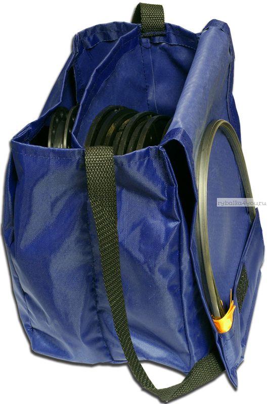 Набор из 5 жерлиц Grifon на пластиковой стойке в сумке