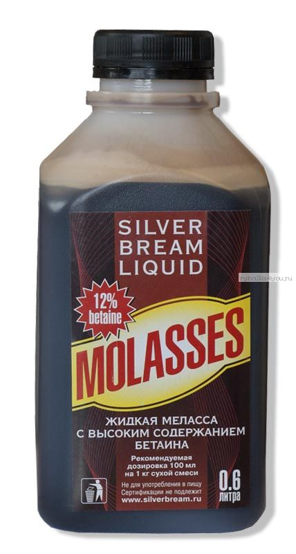 Ароматизатор Silver Bream Liquid Меласса 600мл