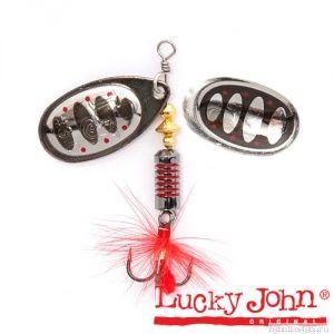 Блесна вращающаяся Lucky John BONNIE BLADE  4,3г 004 в блистере