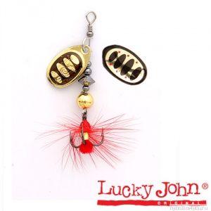 Блесна вращающаяся Lucky John BONNIE BLADE  №04 / 10,3гр / цвет: 001