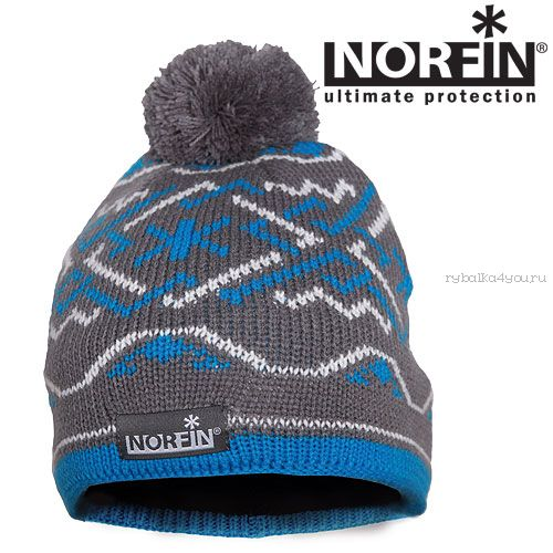 Шапка Norfin NORWAY WOMEN GRAY