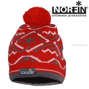 Шапка Norfin NORWAY WOMEN RED