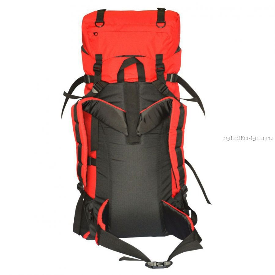 Рюкзак PRIVAL Скаут 60 литров красный