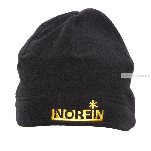 Шапка NORFIN Fleece BL