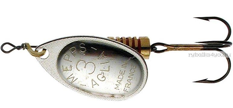 Блесна Mepps Aglia Silver (Серебро) №3 (6,5 гр)