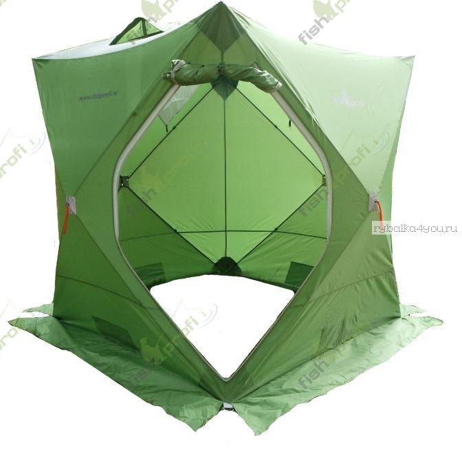 """Палатка зимняя куб """"FISHPROFI"""" 3-х местная (190х190х210см)"""