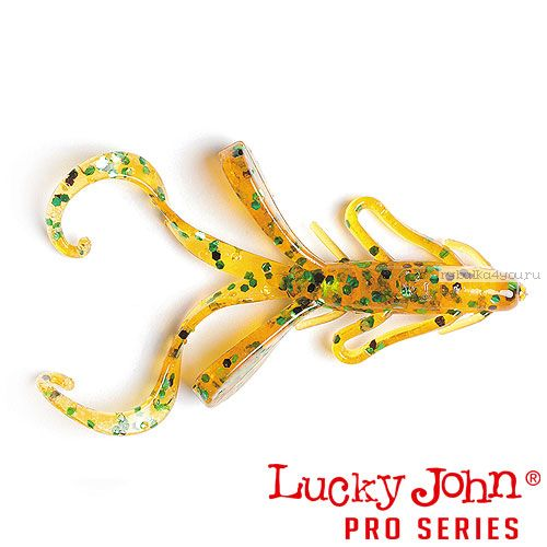 "Твистер Lucky John Pro Series HOGY HOG 1,2"" / 30,5 мм / цвет PA19 / 10 шт"