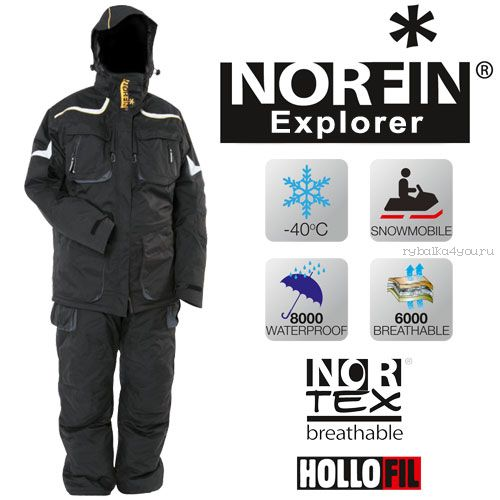 Костюм зимний Norfin EXPLORER