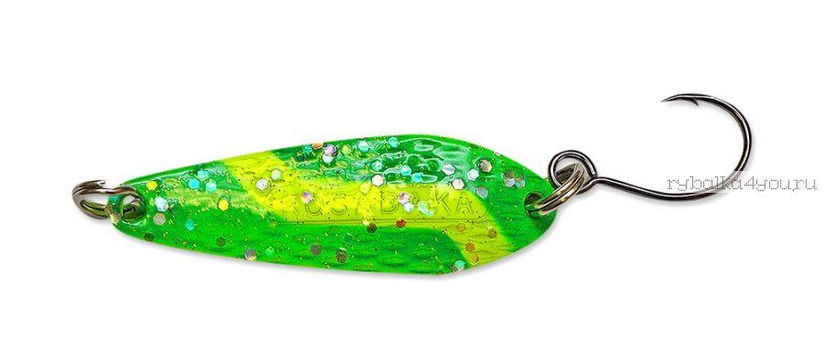 Блесна Kosadaka Buggy (одинарный крючок) 40 мм / 7 гр / цвет GO