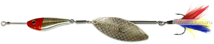 Блесна Kosadaka Quant V2 №2 9гр / цвет RH-Silver