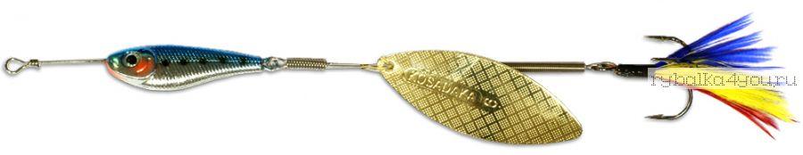 Блесна Kosadaka Quant V2 №4 17гр / цвет BT-Gold