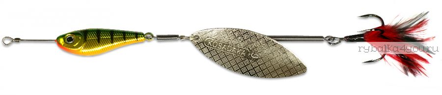 Блесна Kosadaka Quant V2 №6 25гр / цвет HT-Silver