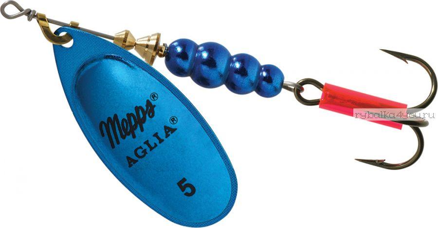Блесна Mepps Aglia Platinum Bleus  №5 (13 гр)