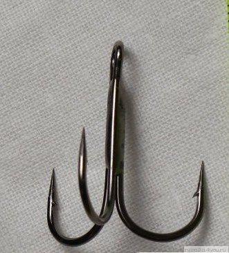 Крючок-тройник Kosadaka R-Treble (BN) ( упаковка )
