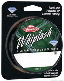Леска плетеная Berkley Whiplash Pro зеленая 110м