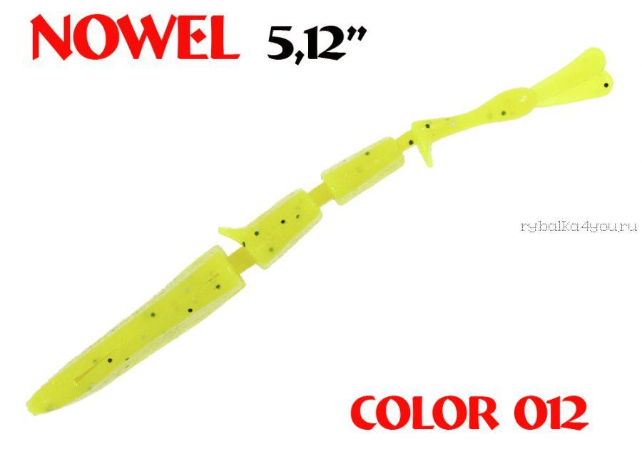 "Червь Aiko Novel 5.12"" 130 мм / 8,25 гр / запах рыбы / цвет - 012 (упаковка 4 шт)"