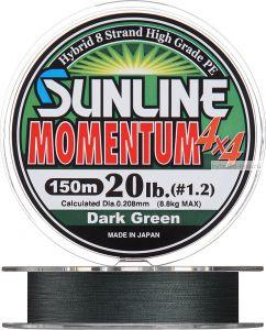 Плетеная леска SUNLINE Momentum 4x4 HG (D.G) 150м