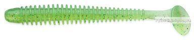 """Виброхвост Keitech Swing Impact 4"""" 10 см / 4,75гр / цвет -424 Lime Chartreuse(упаковка 8 шт)"""