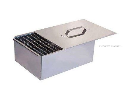 Коптильня двухъярусная нержавеющая сталь 0,8 мм (Артикул: 10-01-0033)
