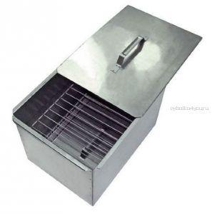 Коптильня двухъярусная с поддоном для сбора жира, сталь 1,0 мм (Артикул: 10-01-0019)