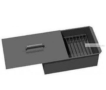 Коптильня двухъярусная с поддоном для сбора жира окраш, сталь 1,5 мм (Арт: 10-01-0018)