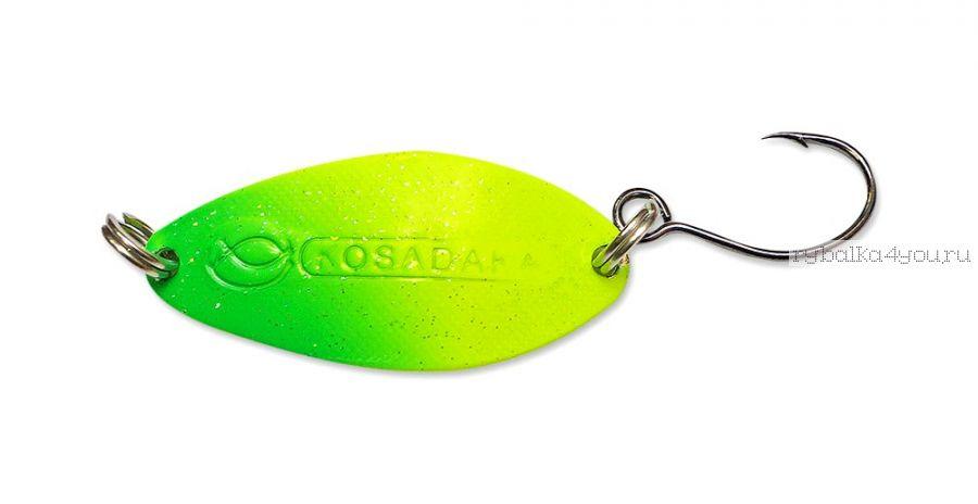 Блесна Kosadaka Buggy (одинарный крючок) 50 мм / 11 гр / цвет CO