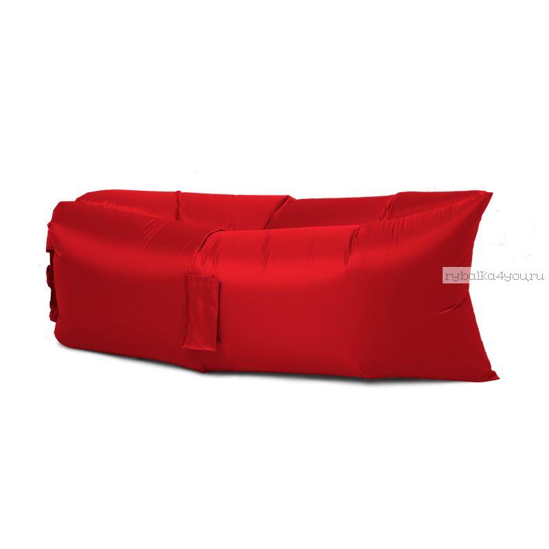 Надувной шезлонг - гамак Lamzac (Красный)