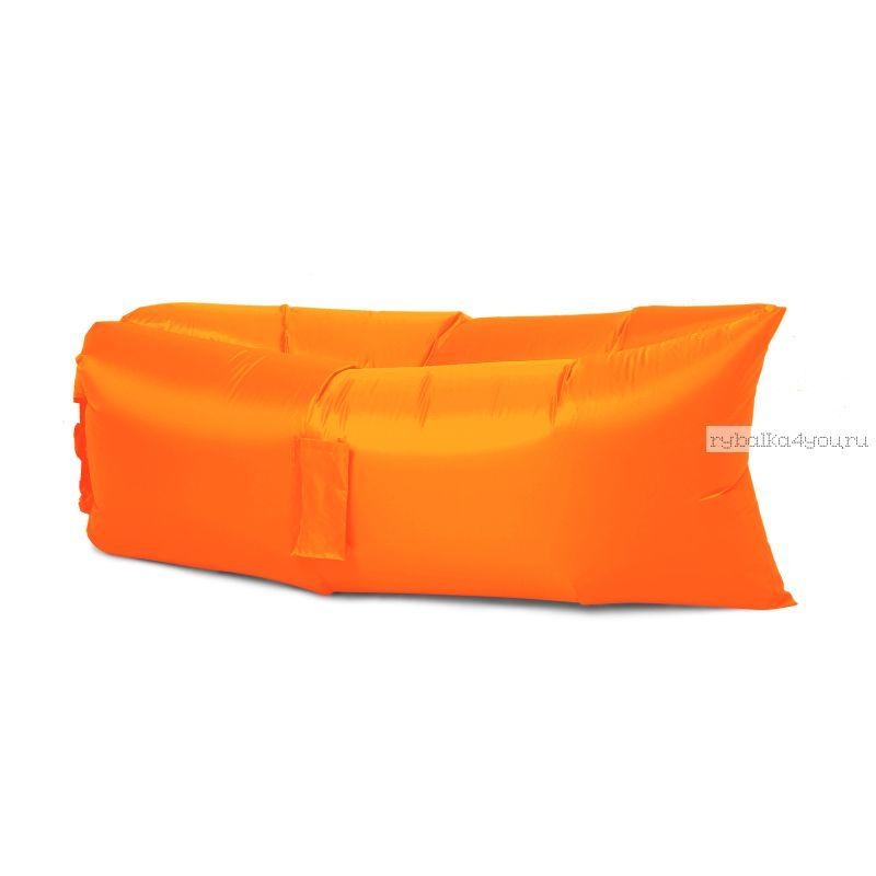 Надувной шезлонг - гамак Lamzac (оранжевый)