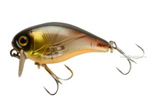 Воблер Jackall Chubby 38 Silent 38 мм / 3,9 гр / плавающий / цвет: bronze green