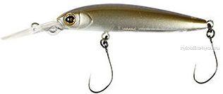 Воблер Jackall De-Pup 47 мм / 1,8 гр / плавающий / цвет: dried sardine