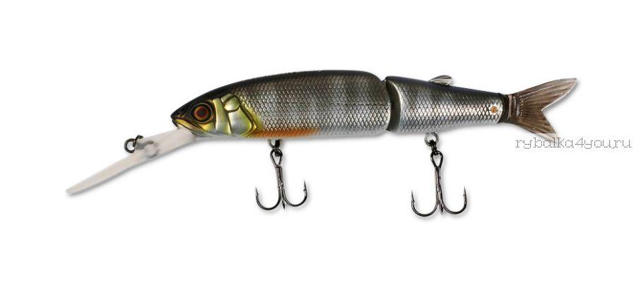 Воблер Jackall Magallon Diving 113 мм / 15,2гр / суспендер / цвет: shibu silver oikawa
