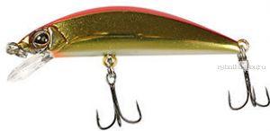Воблер Jackall Tricoroll 67HW  67 мм / 6,3 гр /плавающий / цвет:haku red & gold