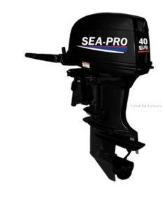 Подвесной лодочный мотор 2-х тактный SEA-PRO T 40S  / 40 л.с. / 74 кг.