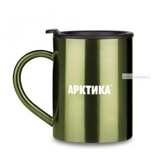 "Термокружка ""Арктика"" 802-450 (450мл) зеленая"