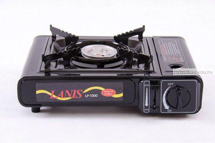 Плита газовая настольная LANIS с переходником Корея LP-1000