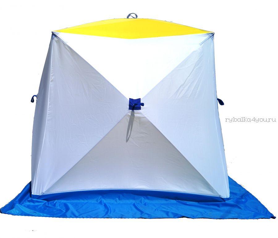 Палатка КУБ 2, трехслойная (брезент) (СТЭК - 50494)