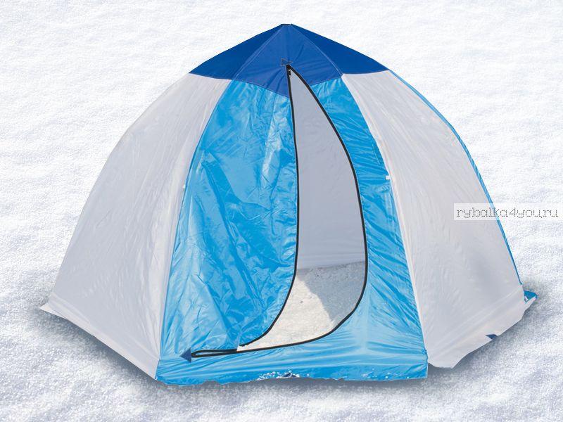 Палатка-зонт без дна Классика 2-х мест. (брезент)(СТЭК - 03066)