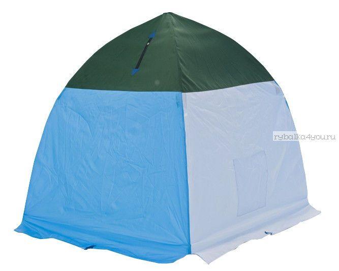 Палатка-зонт без дна Классика с алюм. звездочкой 4-х мест.(СТЭК -32999)