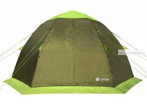Палатка летняя ЛОТОС 5 Саммер центральная палатка