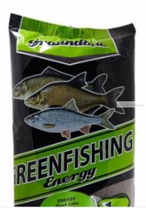 Прикормка Greenfishing ENERGY (Зима) Черное Озеро,1кг