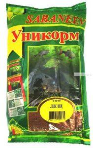 "Прикормка рыболовная  Sabaneev ""Уникорм"" Лещ, 1 кг."